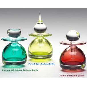 Modern Perfume Bottles 'Pawn' by Michael Trimpol