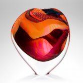 Pink Vessel 'Pink Paradiso' Organic Stoneform by Peter Layton