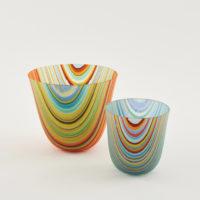 Stripe Glass Vessels