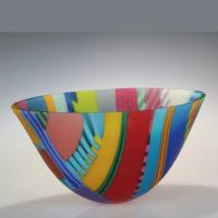 Contemporary Glass Bowl