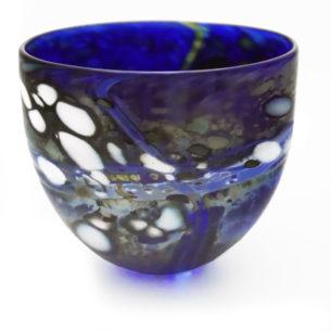 Decorative Blue Bowl