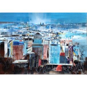 Nagib Karsan - View Across Canary Wharf