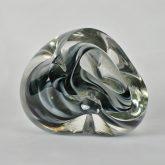 Black Glass Sculptures