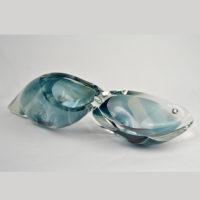 Blue Blown Glass