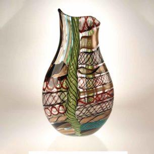Murano Art Glass Vase