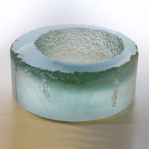 Cast Glass Art Sculpture