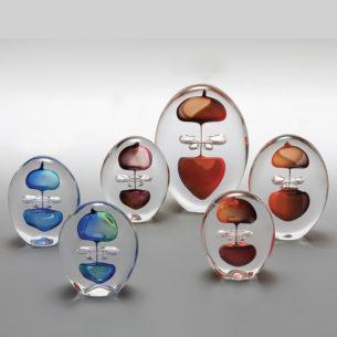 Handblown Unique Glass Art