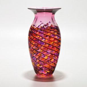 Colourful Glass Art Vases