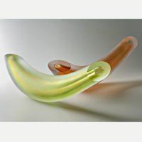 Coloured Glass Sculpture