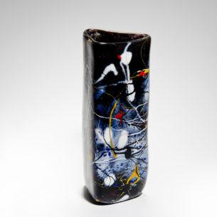 Jackson Pollock Glass Art