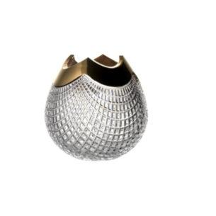 Crystal Vase Gold