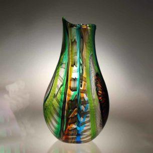 Glass Vase Centrepiece