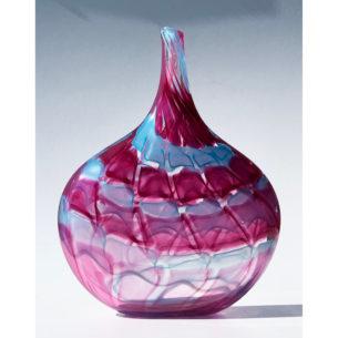 Long Neck Glass Vase