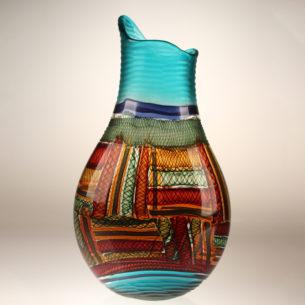 Murano Glass Art Vase