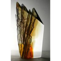 Cast Glass Sculpture Art