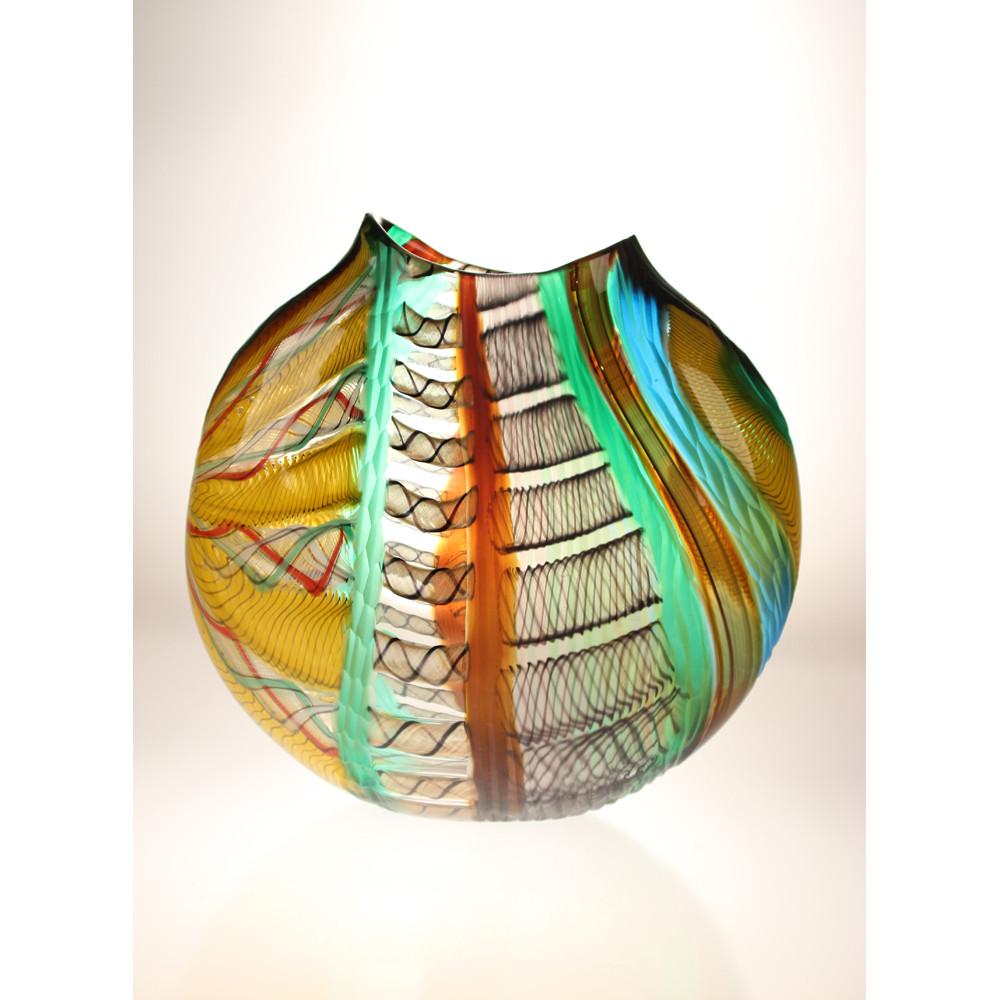 Designer Vase Vivo 29 By Gianluca Vidal Boha Glass
