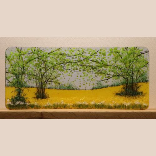 Fused Art Glass Panels