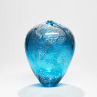Aqua Glass Vessel