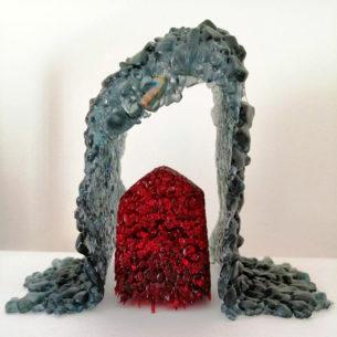 Contemporary Glass Art Sculpture
