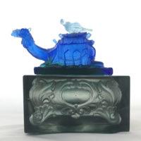 Decorative Glass Art Ornament