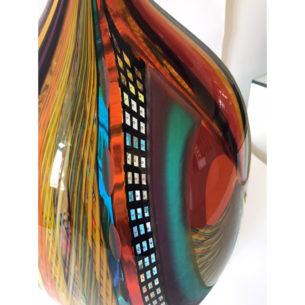 colourful glass ornaments