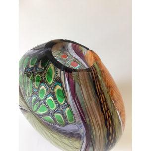 handmade glass vessel