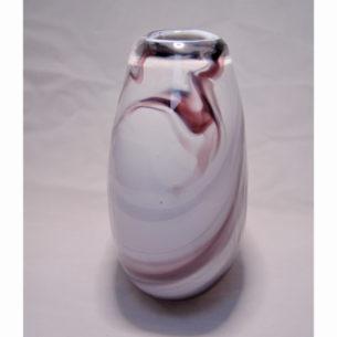 Burgundy Glass Art