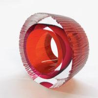 Abstract Art Glass Sculpture
