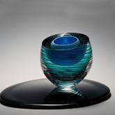 Abstract Glass Sculpture