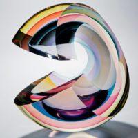 Beautiful Glass Art Sculpture