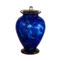Colourful Glass Urn