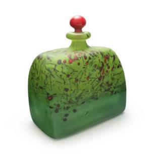 Glass Art Bottle