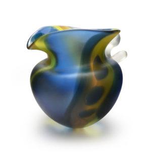 Glass Art Vessel