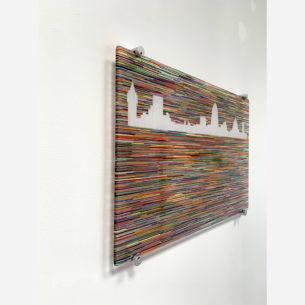 Glass Wall Sculpture Art