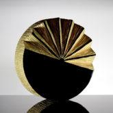 Golden Glass Art