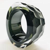 Green Glass Sculptures