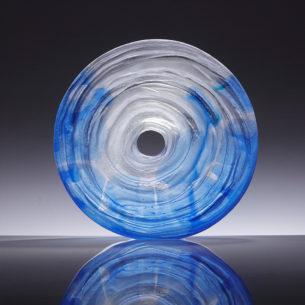Large Art Glass Sculpture