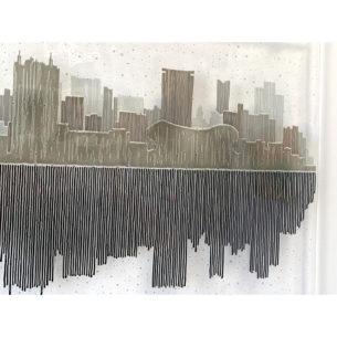 Monochrome Glass Wall Art