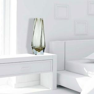 Murano Crystal Vases