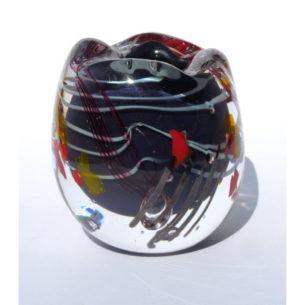 Black Glass Vessel