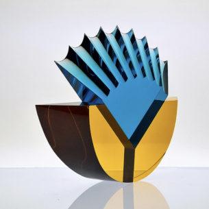 Colourful Art Glass Sculpture