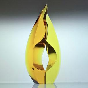 Colourful Glass Art Sculptures