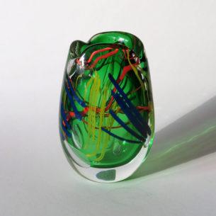Contemporary Art Glass Vesse