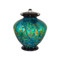 Decorative Glass Urns
