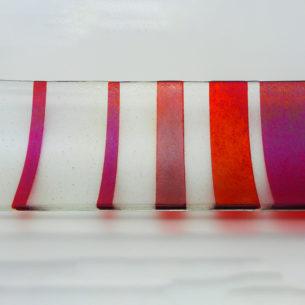 Glass Art Platter