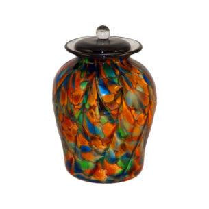 Glass Memorial Urns