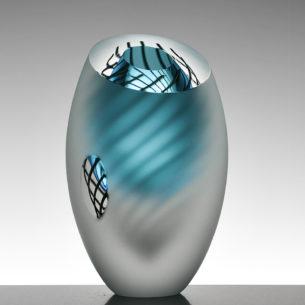 Handblown Glass Art Vases
