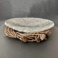 Kiln Formed Glass Art Bowl
