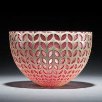 Decorative Art Glass Bowl