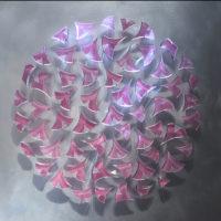 Glass Sculpture Wall Art